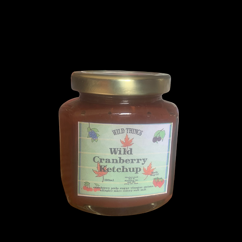 Wild Cranberry Ketchup 190ml