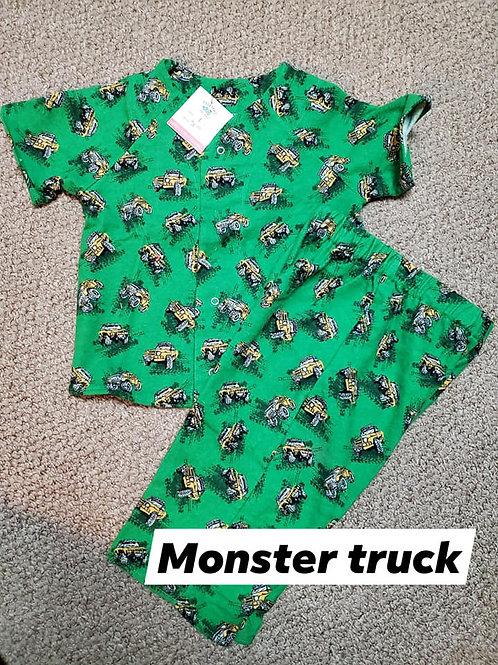 Monster Truck PJ Set