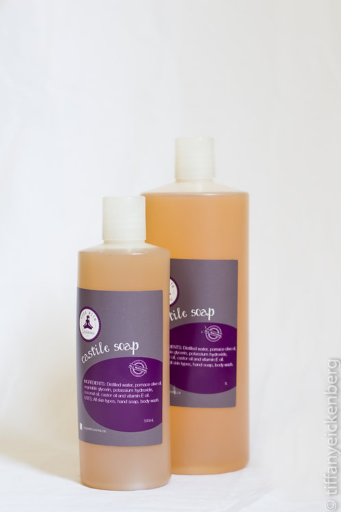 Castile Soap 500ml or 1L