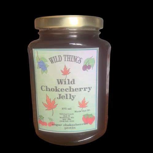 Wild Chokecherry Jelly 375ml