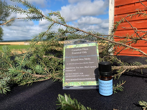 Black Spruce Essential Oil or Wax Melts