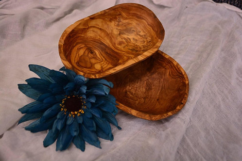Olive Wood Nibble Bowl - $17.7
