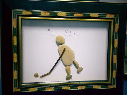 #1 Star - 10  x  8 inches