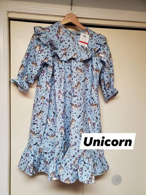 Unicorn Nighty - Size 4