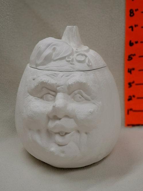 Pumpkin with Face - Medium