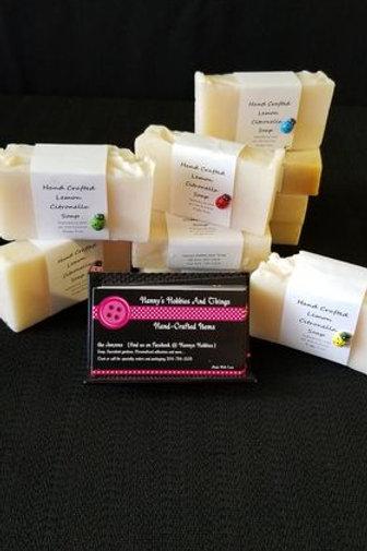 Hand Crafted Lemon Citronella Soap