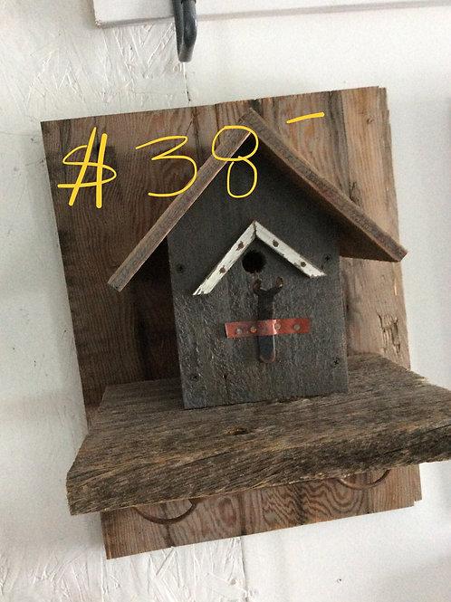 Barnboard Birdhouse