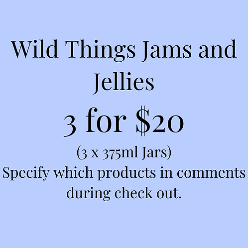 Wild Things Jams and Jellies