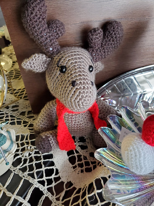 Crochet Baby Moose