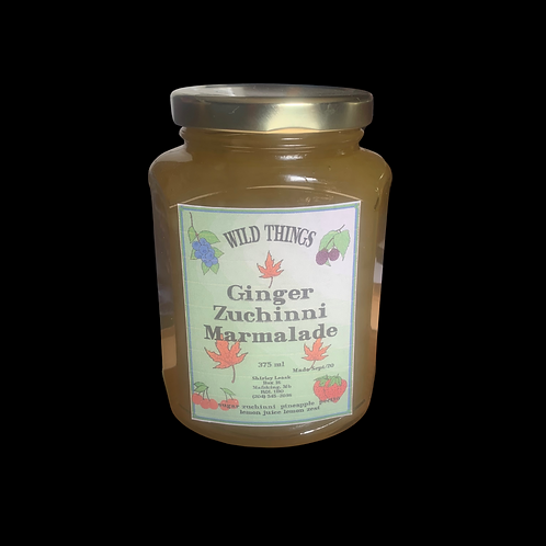 Ginger Zucchini Marmalade 375ml
