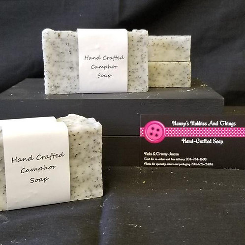 Hand Crafted Camphor Soap