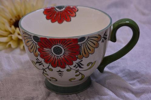 Large Handled Pedestal Cups $13.95