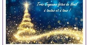 Bilan 2019 / Joyeuses fêtes à tous !