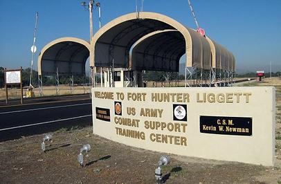 Fort Hunter Liggett Street Lighting
