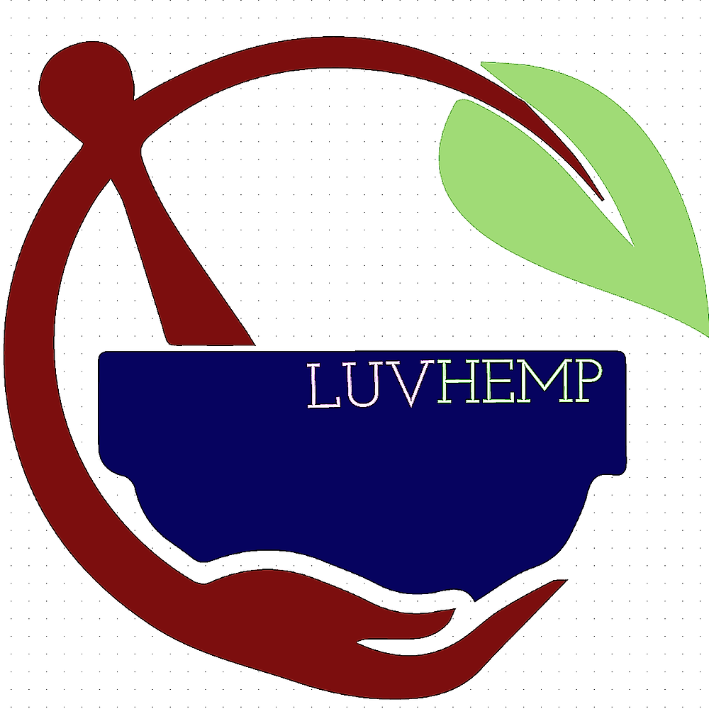 LUVHemp, changing the world in North Carolina with the most industrial plant in the world, Hemp. - Living Ultra-Violet Inc. Logo for LUV Hemp