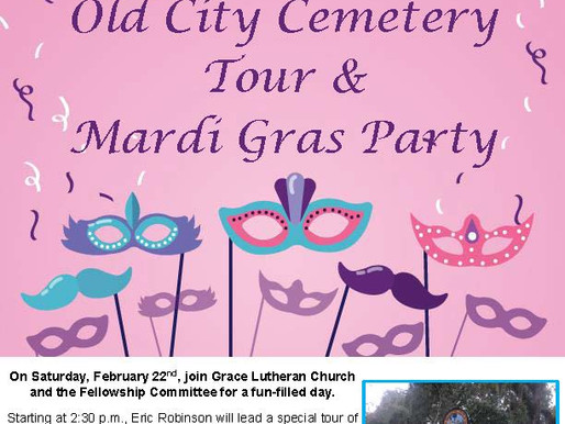 Spend February 22nd with Grace Lutheran!