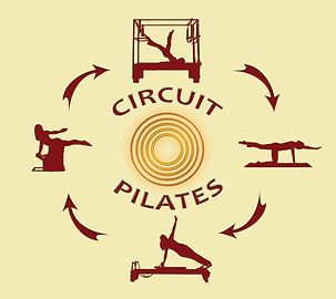 Circuit Pilates pulse red hill reformer cadillac wunda chair classes group cardio