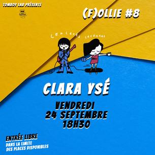 F(ollie) #8 Clara Ysé