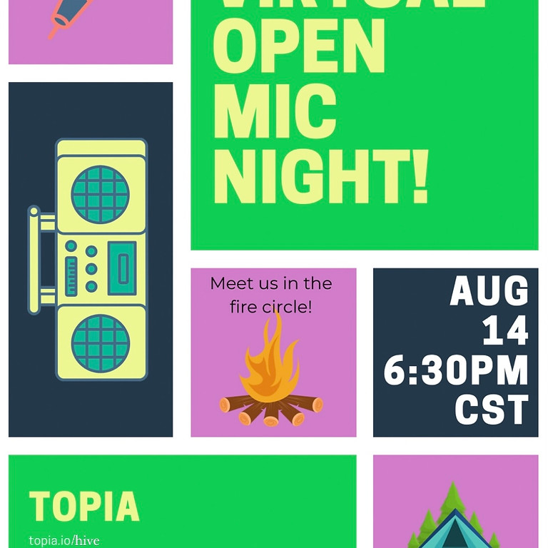 Cyber Campout Open Mic