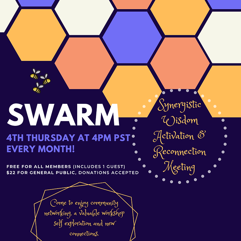 SWARM: Synergistic, Wisdom, Activation & Reconnection Meeting