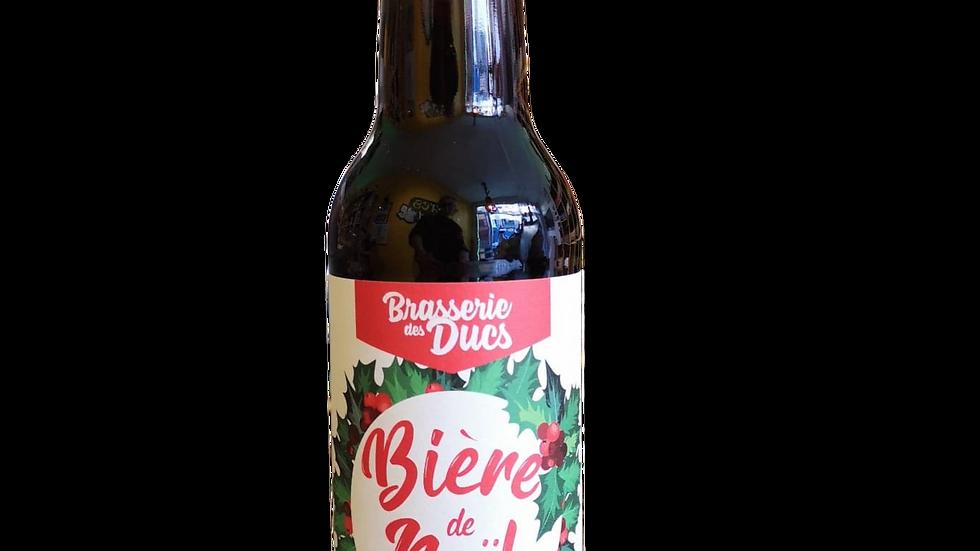 """BRASSERIE DES DUCS """"BIERE DE NOEL"""""""