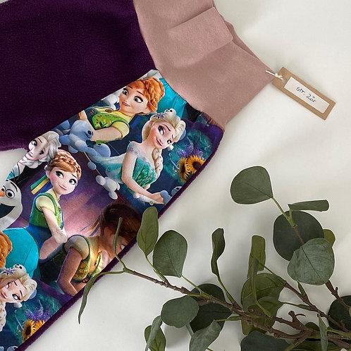 Fleecebukse med Elsa og Anna