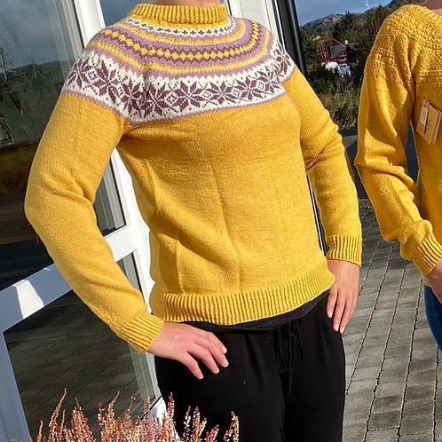 Strikket genser