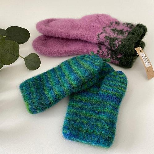 Tovet sokker/votter