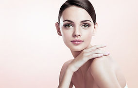 Very remarkable beauty model shaped look
