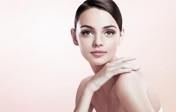 Blemish free smooth skin model