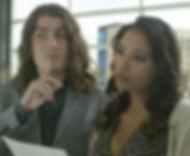 Steven Heil's Ben & Maya Vasser's Nicole as obnoxious art snobs