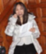 Akiko Shima on-set candid