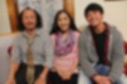 Cast photo of Naoyuki Ikeda, Akiko Shima, & Kento Matsunami