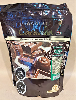 CHIPS CHOCOLATE CARAVELLA 1kg