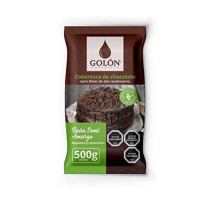 COBERTURA SEMI AMARGA GOLON 500 gramos