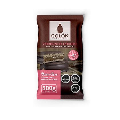 COBERTURA SEMI DULCE GOLON 500 gramos