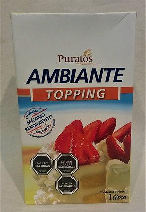 CREMA AMBIANTE DISP 1 Lt. PURATOS