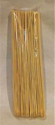 BROCHETAS LARGAS 25cm (100 unidades)