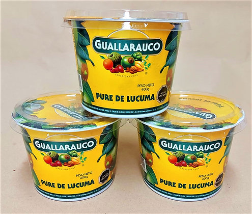 PURE DE LUCUMA GUALLARAUCO 400G.