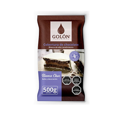 COBERTURA BLANCA GOLON 500 gramos
