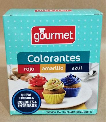 COLORANTE 3 COLORES GOURMET 75cc