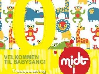 Baby- og småbarnsang for barn 3-16 mnd. Nye kurs starter 31.08. og 01.09.