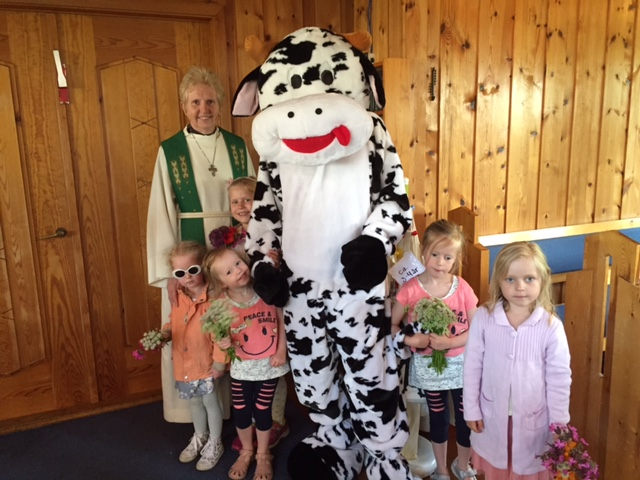 Ragnhild Fasseland, kua Julie og barn 19.06.16