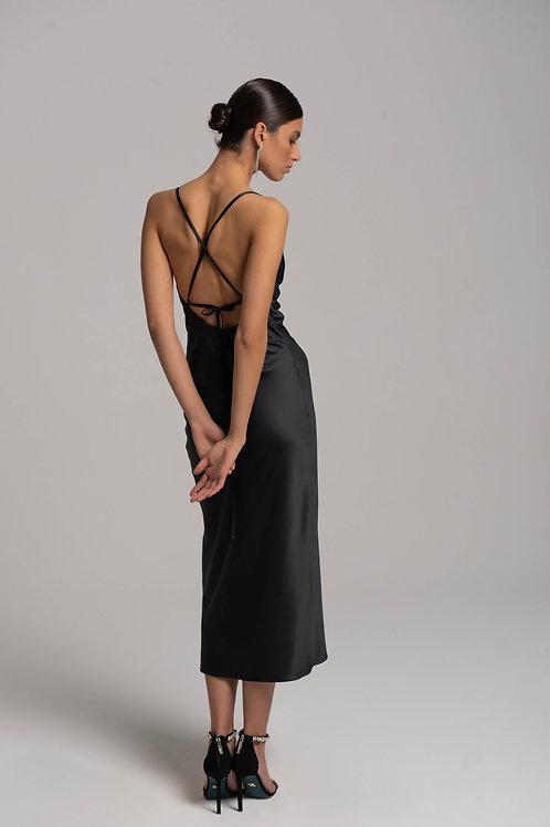 Платье-комбинация с завязками