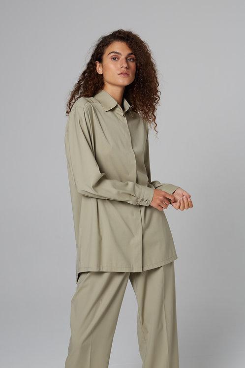 Рубашка из тонкой шерсти