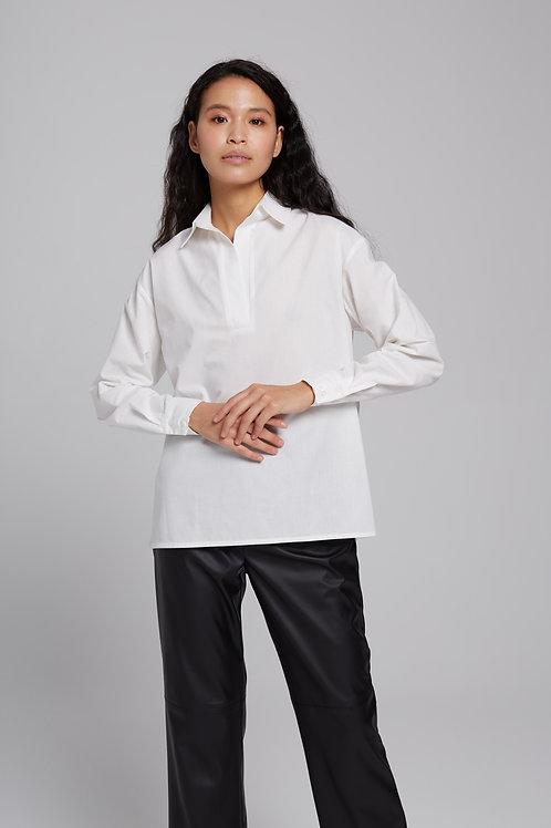Рубашка-поло из хлопка