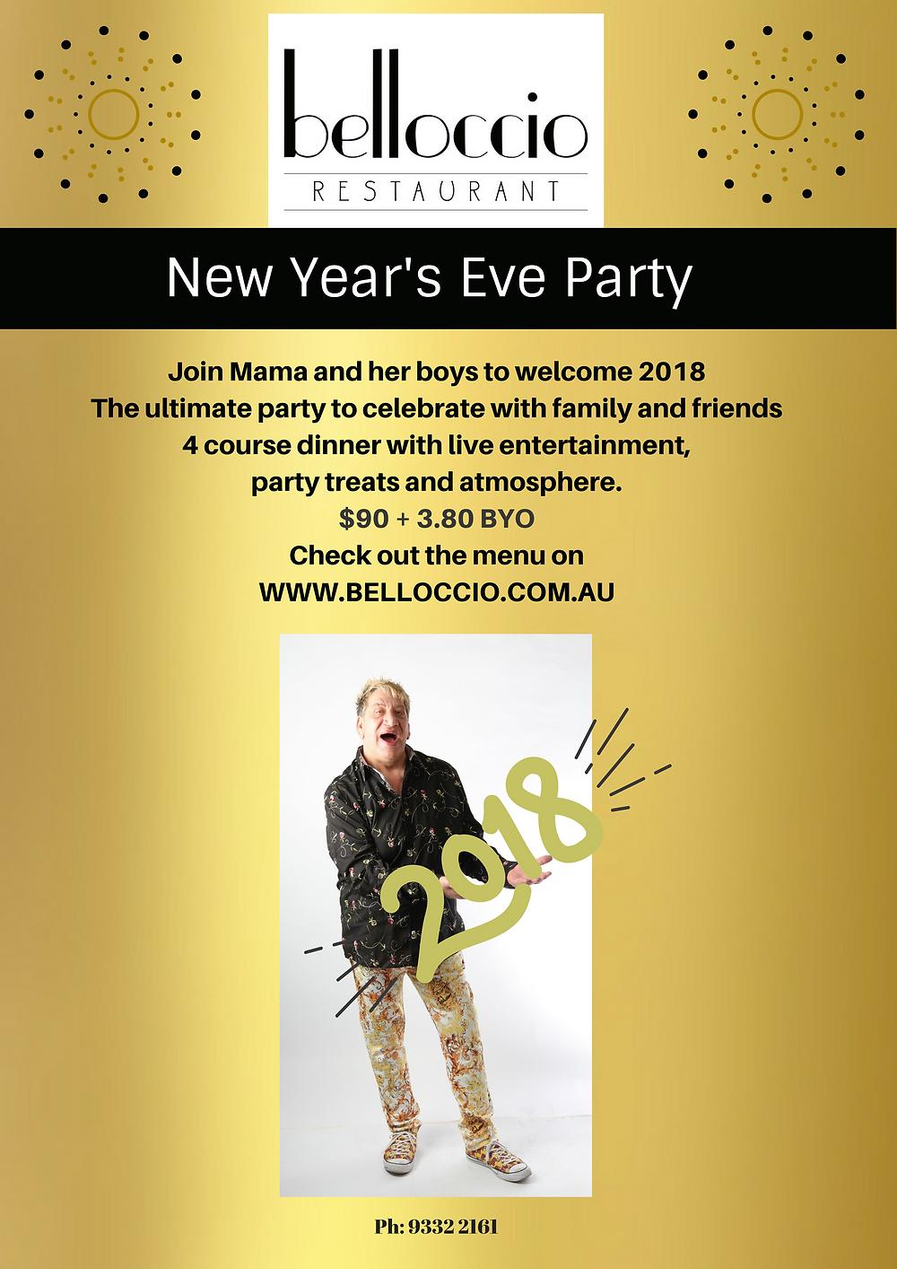 New Year's Eve at Belloccio