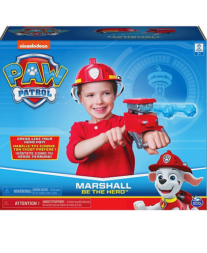 Paw Patrol Be The Hero Marshall Role-Play Set
