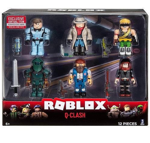 Roblox Action Collection Q-Clash Pack de 6 figuras