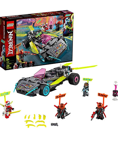 LEGO NINJAGO Ninja Tuner Car 71710 (419 piezas)